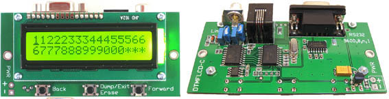 DTMF to RS232 Decoder